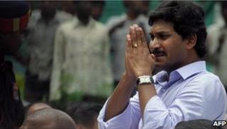 Jagan Reddy on 3 September 2009