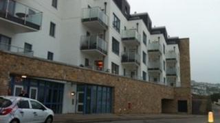 The flats in Porthmeor Beach Road