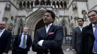 Lalit Modi in a March 4, 2012 photo in London