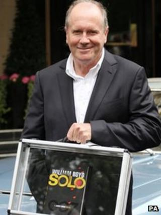 William Boyd with Solo book