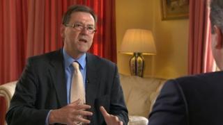 John Hess interviewing David Cameron