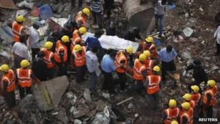 Rescue operation in Mumbai, 28 Sept