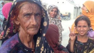 Teertaj villagers. Balochistan
