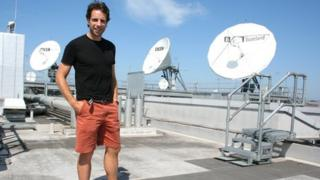 Mark Beaumont at BBC Scotland
