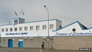 John Watson & Company base in Glasgow