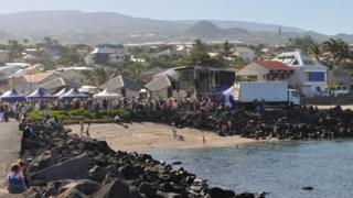 Beach in La Reunion