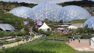 Eden Project Pic: Lawrence Jones