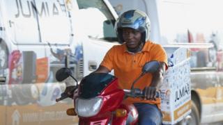 Jumia bike delivery