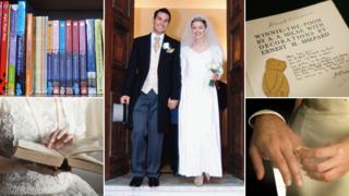 Composite wedding images