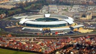 GCHQ in Cheltenham (file photo)