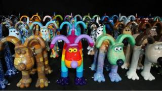 Some of the Gromits