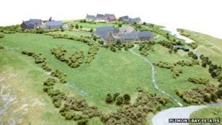 Plans for the Plemont headland