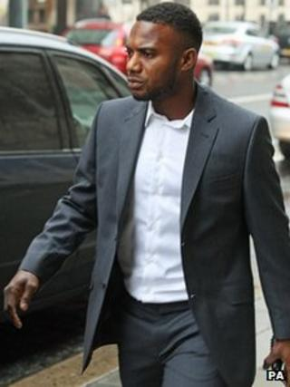 Stephane Sessegnon at Newcastle Magistrates Court