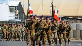 Italian troops in Afghanistan