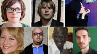 The seven shortlisted writers