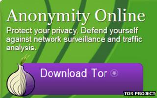 Tor web page