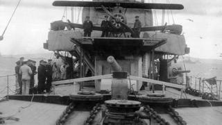 HMS Caroline during World War I