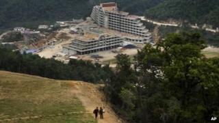 The Masik Pass ski resort is September 2013