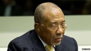 Charles Taylor in court on September 26 2013