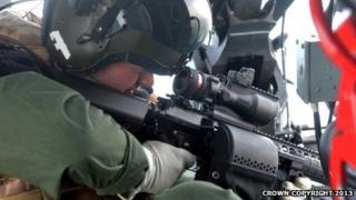 Royal Navy sniper