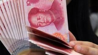 File picture of yuan notes, also known as renminbi