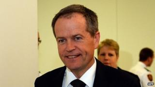 The new leader of the Australian Labor Party, Bill Shorten