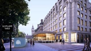 Image of what the new Scotland Yard will look like