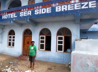 Krishna, manager of the Hotel Seaside Breeze in Gopalpur. 13 Oct 2013
