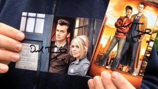 Counterfeit autographs of David Tennant
