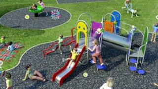 A play area is planned for Mansfield Park