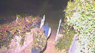CCTV image of aggravated robbery in Gainford