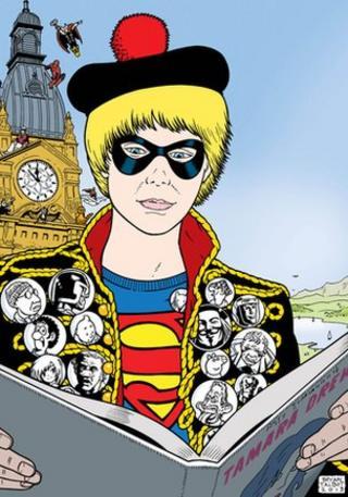 The Lakes International Comic Art Festival poster