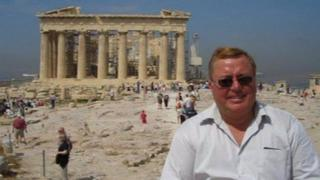 Souter at the Parthenon, Athens