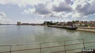 Hythe waterfront