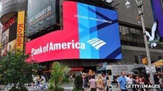 A Bank of America advert