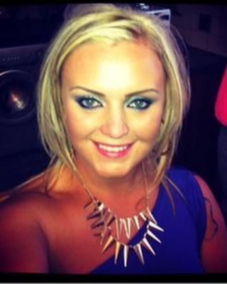 Jemma McGrath, 24, was shot in an attack in east Belfast