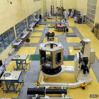 India's Mangalyaan space craft