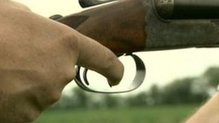 A shotgun trigger