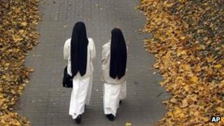 Generic photo of Catholic nuns