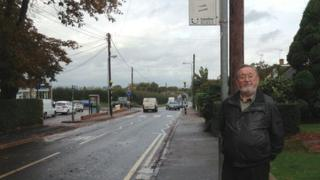 bus stop in Rayleigh