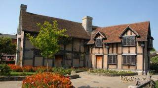 William Shakespeare's birthplace in Henley Street, Stratford-upon-Avon