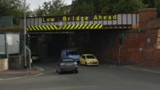 Stoke road railway bridge