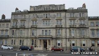 Hotel Prince Regent in Weymouth