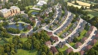 The proposed Llandeilo development