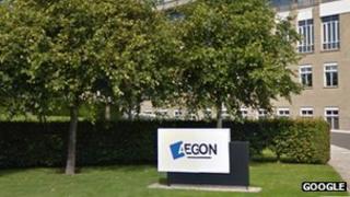 Aegon signpost