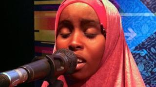 Deeqa, a contestant