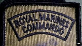 Royal Marines Commando badge