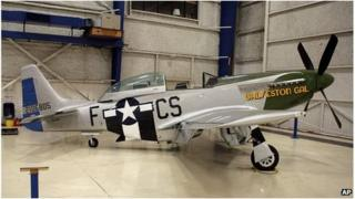 TF-51 training variant of the P-51 Mustang fighter aircraft