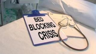 Bed blocking graphic