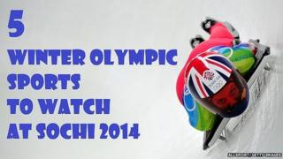 5 Winter Olympic sports to watch at Sochi 2014